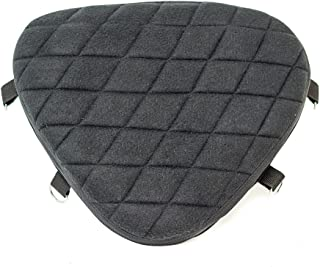 Gel Pad Seat Cushion for Motorcycles with Memory Foam (Driver)