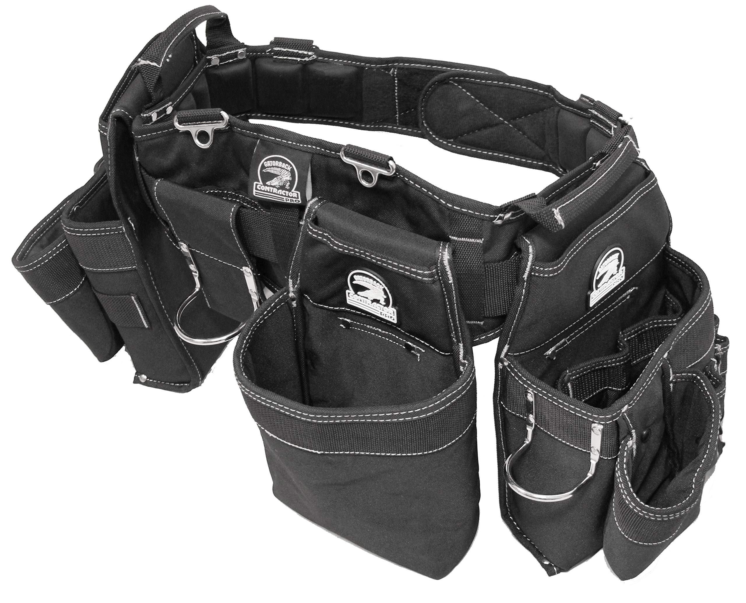 Gatorback B145 Carpenters Triple Combo w/Pro-Comfort Back Support Belt