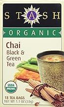 Stash Tea Organic Green Black Chai Tea - 18 ct