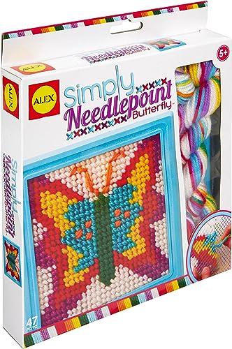 Alex Simply Needlepoint Butterfly Craft Kit