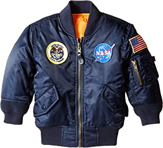Alpha Industries Little Boys' Toddler NASA MA-1 Bomber Jacket