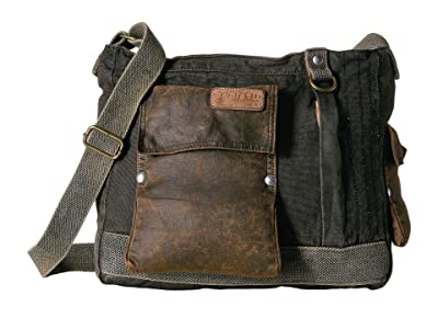 Bed Stu Trapper John Utility Bag (Oil Slick) Messenger Bags