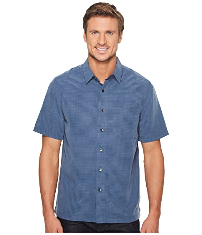 Royal Robbins Desert Pucker S/S (Collins Blue) Men