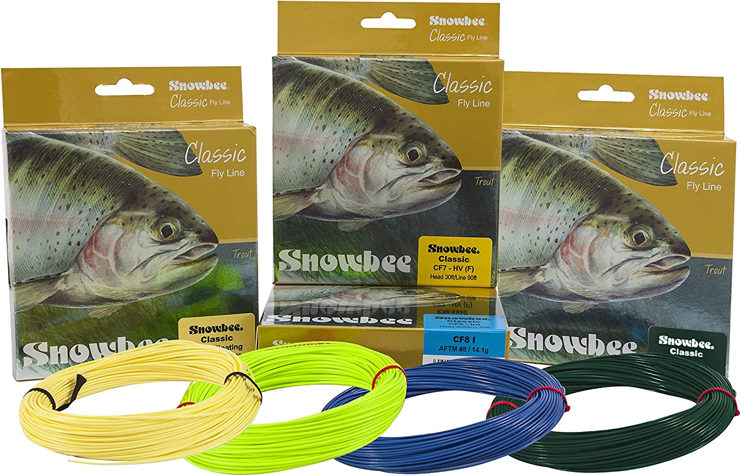 SNOWBEE Classic Max High quality 71% OFF Weight Forward Fly Dark Line Green Fast-Sink -