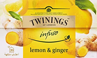 Twinings Infuso Lemon Ginger - 20s