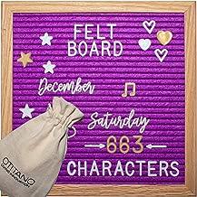 purple letter board