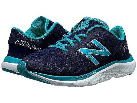 Womens Shoes New Balance W690v4 Pigment/Sea Glass
