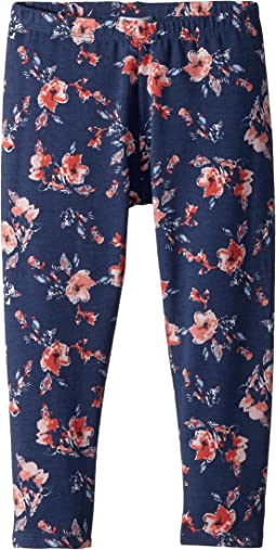 Floral Print Leggings (Toddler/Little Kids)