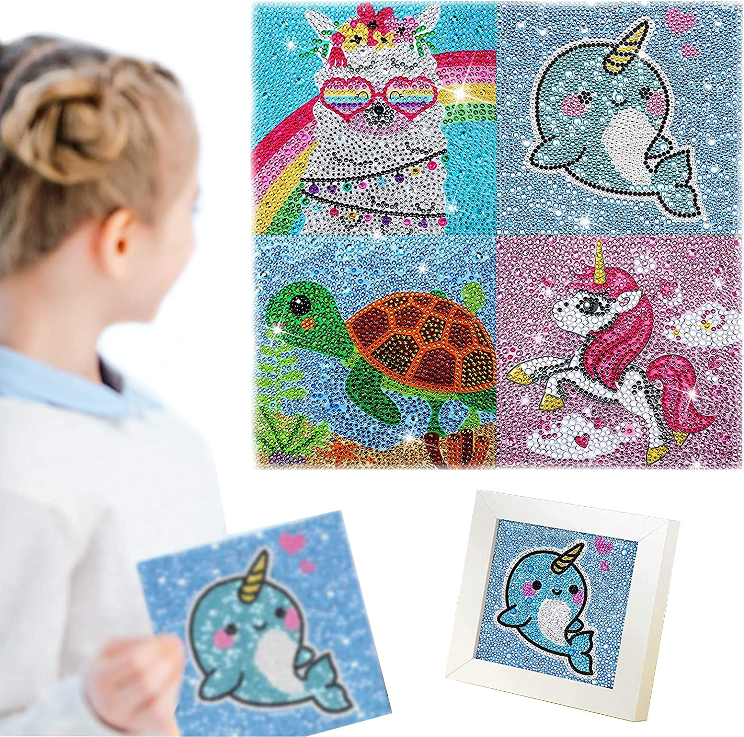4 Pieces 5D Diamond Painting Now free shipping Kit Full Drill for by Kids Fort Worth Mall