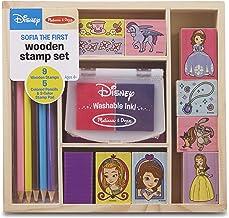 Melissa & Doug Disney Sofia the First Wooden Stamp Set