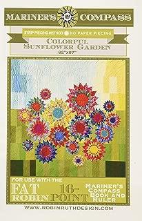 Robin Ruth Design RR161 Sunflower Garden Ptrn