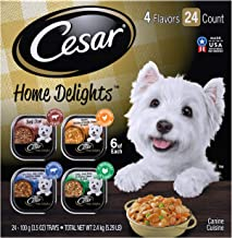 Cesar Soft Wet Dog Food Classic Loaf in Sauce Filet Mignon Flavor Multipack