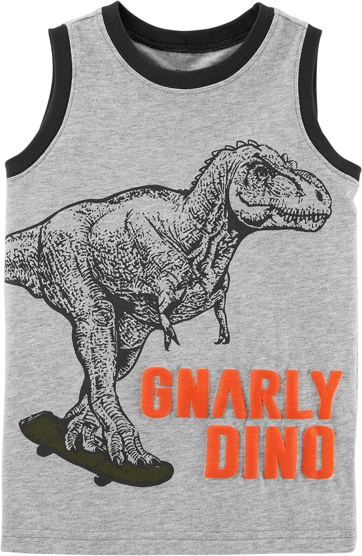 Carter's Baby Boys' Gnarly Dino Sleeveless Tank