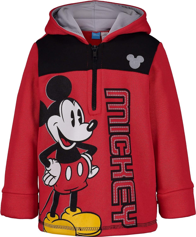 Disney Mickey Mouse Boys Fleece Pullover Hoodie