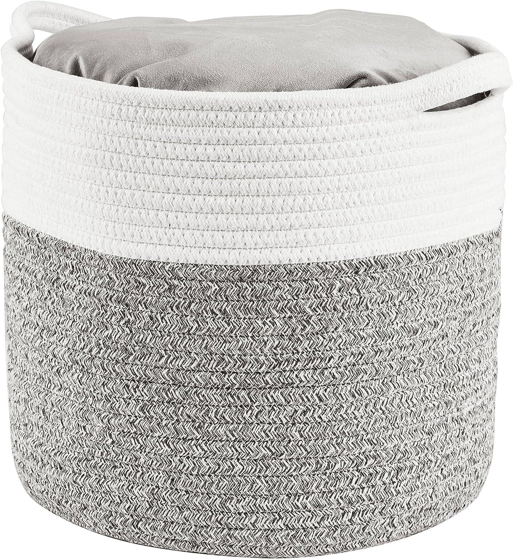 Woven Laundry Basket Storage Bin: Extra Large 22