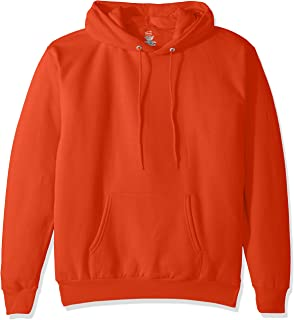 Hanes Men's Pullover EcoSmart Fleece Hooded Sweatshirt, Ash
