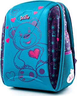 3D Cartoon Kids Boys Toys Lightweight Backpack | Water Resistant Isolated Back to School Bag (Blue)