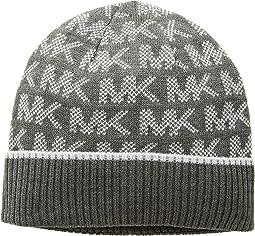 Grid Logo Cuff Hat