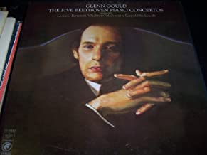 Glenn Gould the Five Beethoven Piano Concertos, 4 Lp Box Set