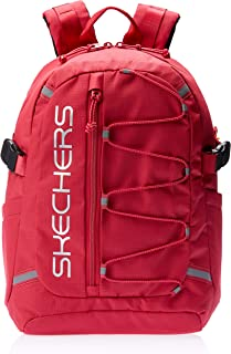 Skechers S543 Santa Monica 1 Section Backpack, Red, 39 Centimeters