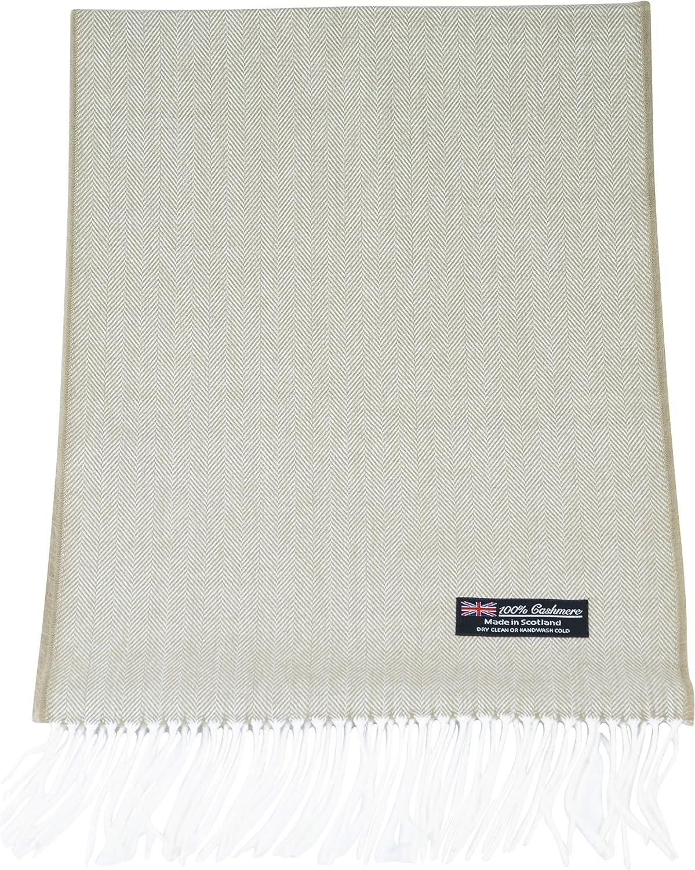 2PLY 100% Cashmere Scarf Elegant Collection Made in Scotland Soft Winter Wool Nova Buffalo Tartan Tweed Herringbone Plaid