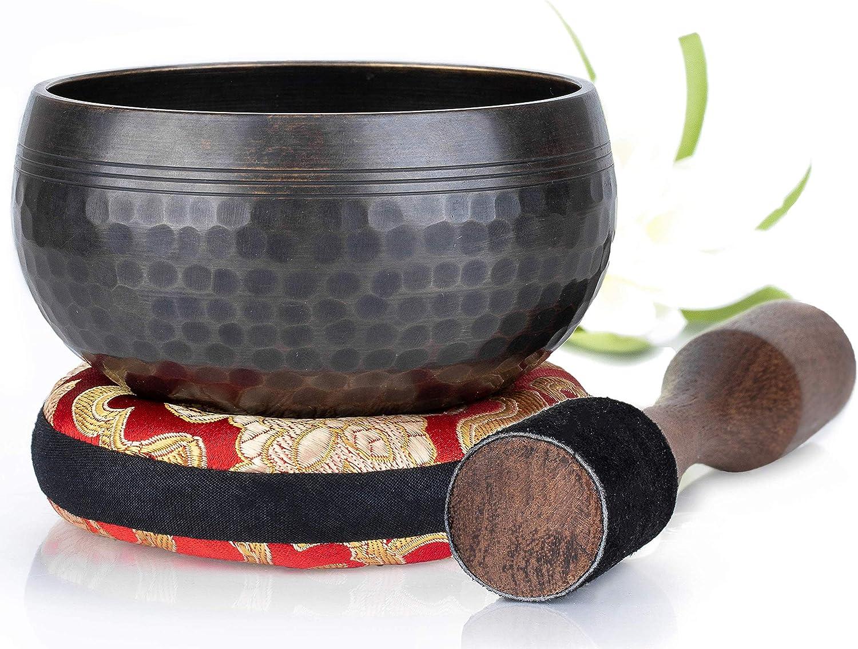 cuenco tibeteano Diseño de equilibrio y armonia 10 cm matte