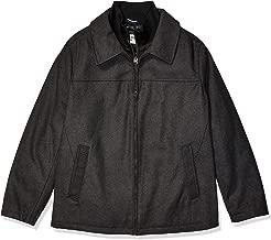 Dockers Men's Big and Tall Big & Tall Logan Wool Blend Open Bottom Bib Jacket