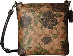 Camo Rose Messenger Crossbody