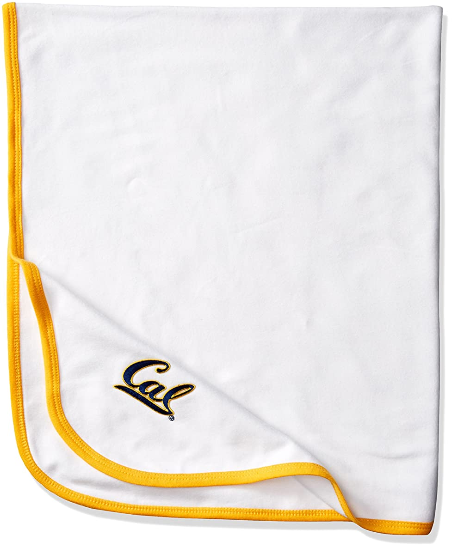 Two Feet Ahead NCAA California Golden Bears Infant Blanket, One Size, White/Gold