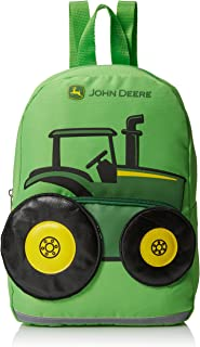 Boys' Tractor Toddler Backpack, Lime Green