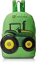 John Deere Boys' Tractor Toddler Backpack, Lime Green