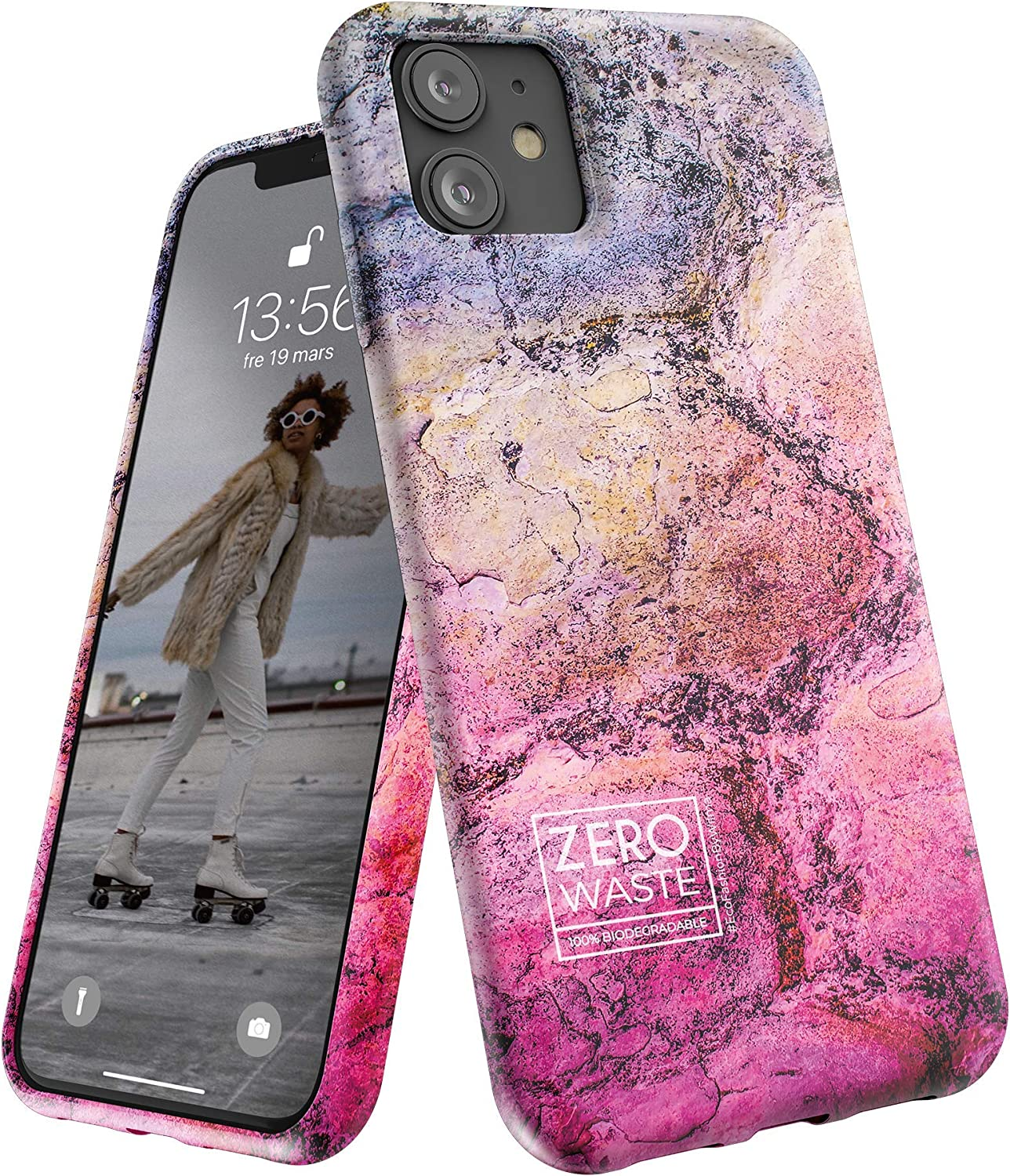 Wilma Biodegradable Compatible with iPhone 11 Case, Zero Waste, Shockproof Protective Phone Cover, Eco Friendly, Stop Plastic Pollution, Plastic Free Case, Landscape