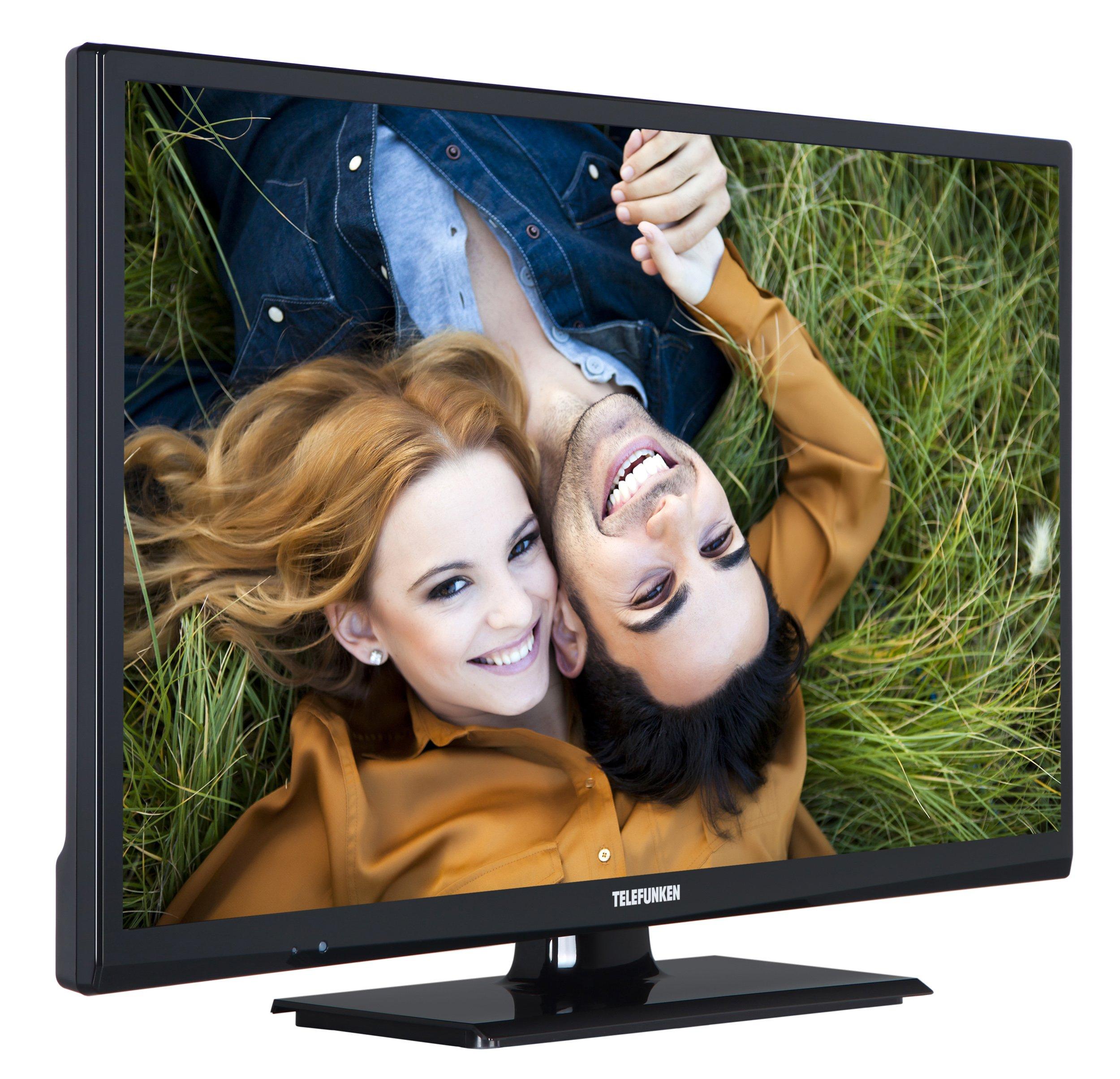 Televisor Telefunken XH24A101 de 61 cm (24 pulgadas) (HD Ready, sintonizador triple): Amazon.es: Electrónica