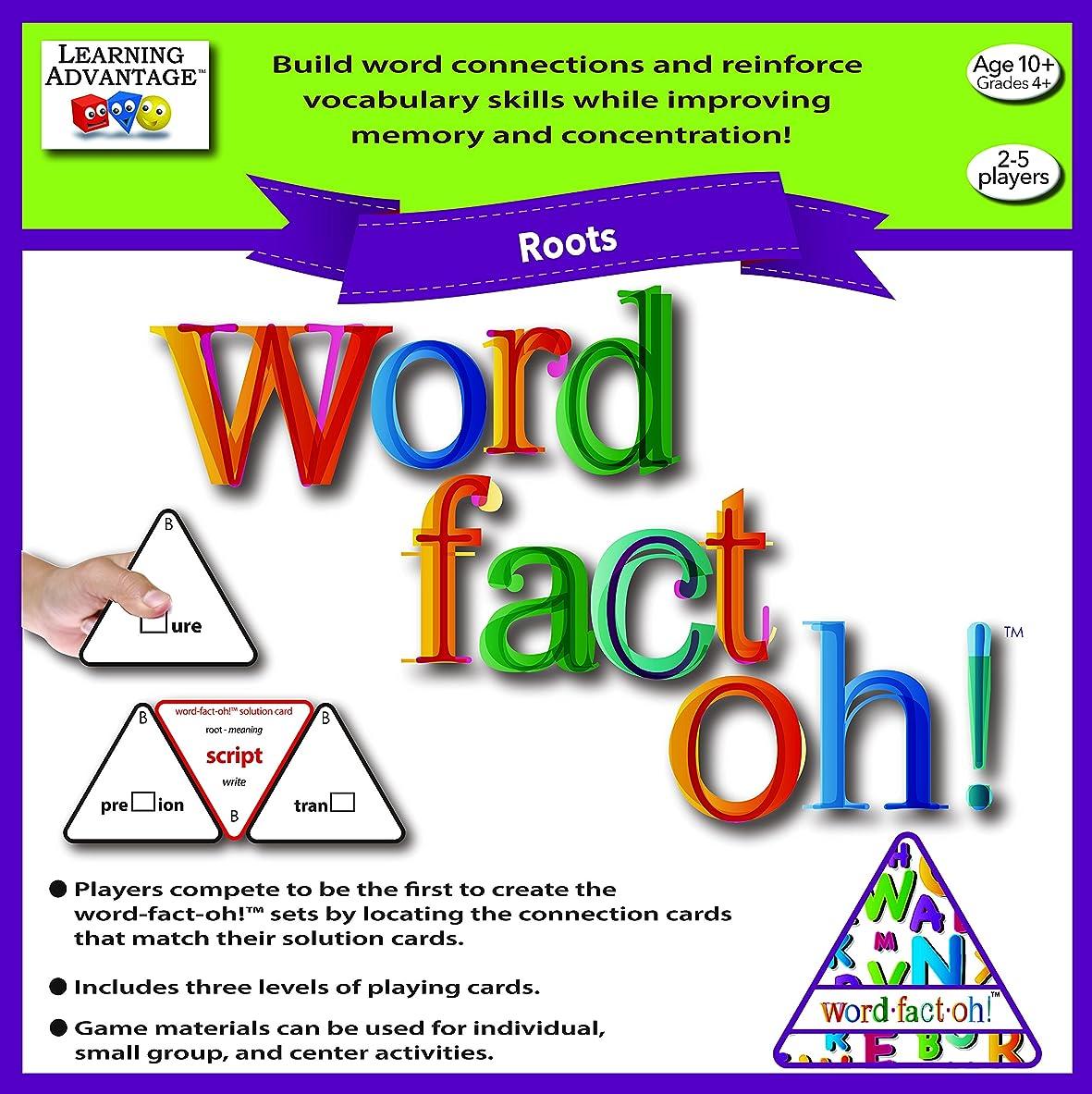 中央値はしご平衡Word Fact Oh Roots Game