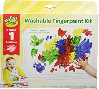 Crayola 繪兒樂 幼兒初期涂鴉手指畫套裝 包括涂畫紙 禮品