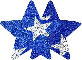 Nippies Style American Flag Print Stars Waterproof Adhesive Nipple Cover Pasties