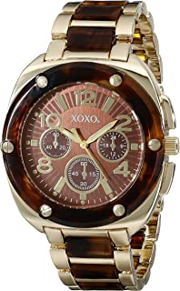 XOXO Womens Quartz Watch, Analog Display and Stainless Stell Strap - XO5644