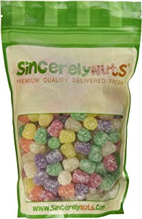Sincerely Nuts – Spice Drops | 2Lb. Bag | Delicious Sugar-Coated Gum Drop Snack | Gluten Free Gourmet Jelly Gummy Candy for Kids & Adults | Premium Fresh Packaging