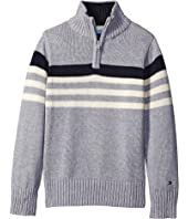 Tommy Hilfiger Kids - Peter 1/2 Zip Sweater (Toddler/Little Kids)
