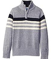 Tommy Hilfiger Kids - Peter 1/2 Zip Sweater (Toddler/Little Kids)