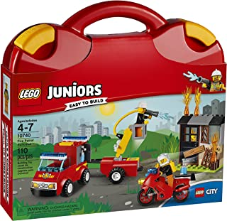 LEGO Juniors Fire Patrol Suitcase 10740 Toy for 4-7-Year-Olds