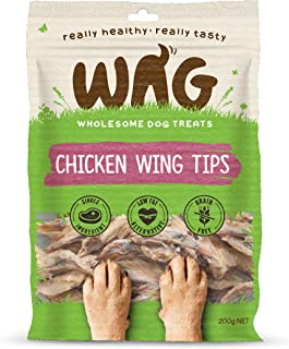 Watch & Grow Food Co Chicken Wing Tips Dog Treat, 200g