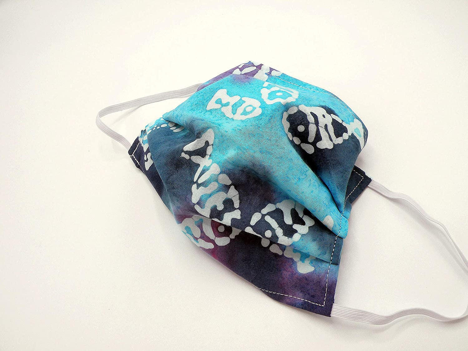 Batik Fish Cloth Max 40% OFF Face Mask Washable Slit Op for Topics on TV Reusable and has