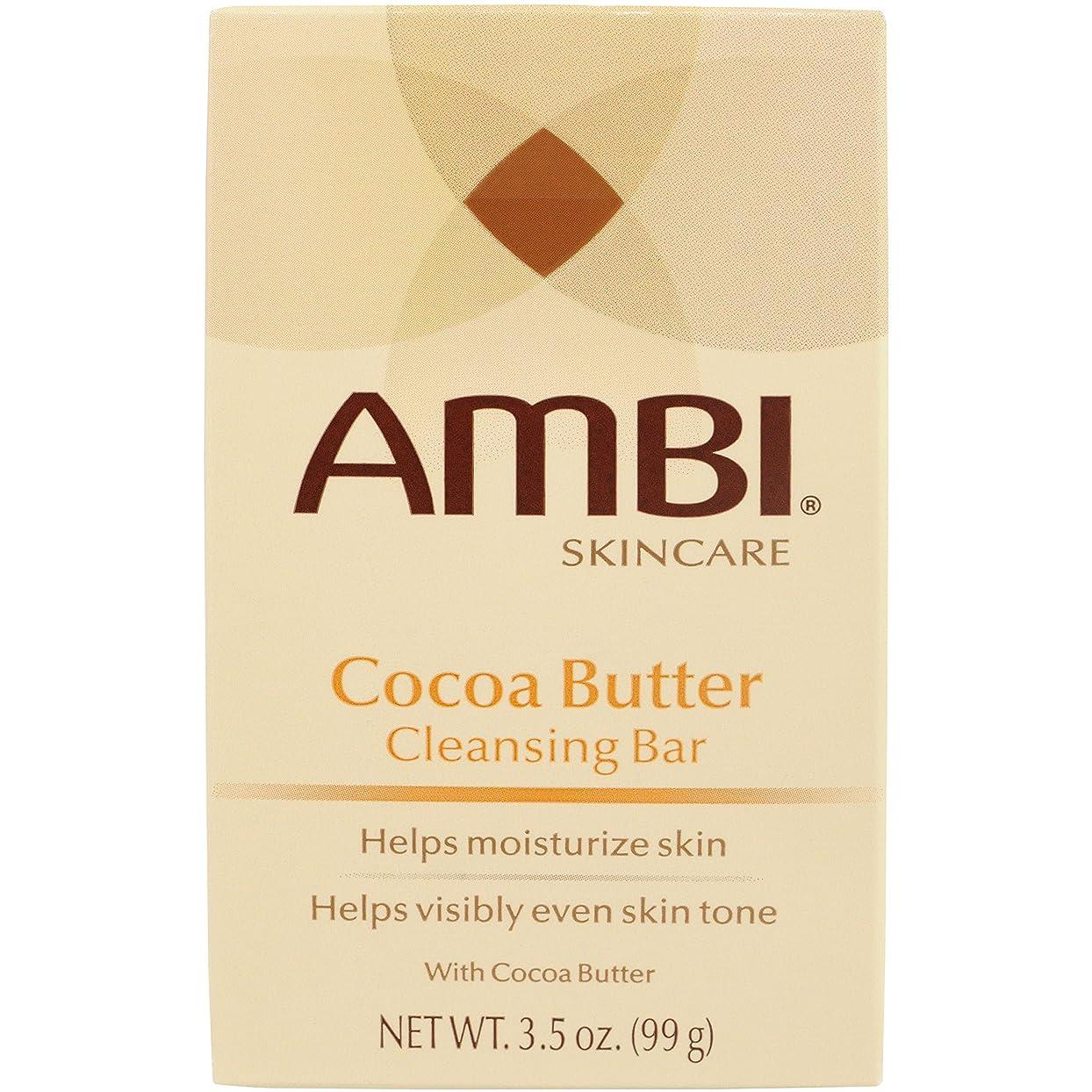 何でも許さないバイバイAmbi Fade Soap Cocoa Butter 105 ml (並行輸入品)