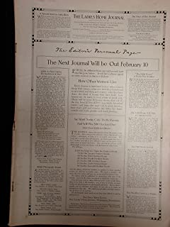 Ladies Home Journal from Feb., 1911