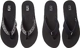Fronds Black/Companera Black