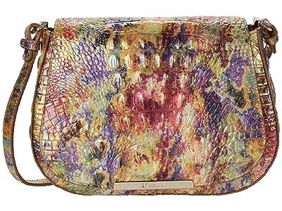 Brahmin Melbourne Small Nadine Crossbody (Harvest) Handbags