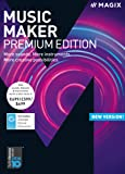 MAGIX Music Maker – 2018 Premium Edition – The audio software with more sounds, instruments and creative options [Download]