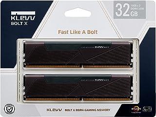 KLEVV デスクトップPC用ゲーミング メモリ PC4-25600 DDR4 3200 16GB x 2枚 288pin BOLTX シリーズ SK hynix製 メモリチップ採用 KD4AGU880-32A160U