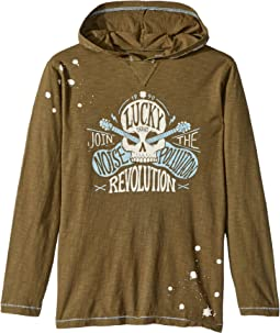 Lucky Brand Kids Make Noise Hoodie (Big Kids)